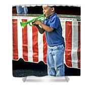 Young Musician Shower Curtain