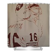 Young Nfl Montana Shower Curtain