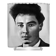 Young Robert Oppenheimer Shower Curtain