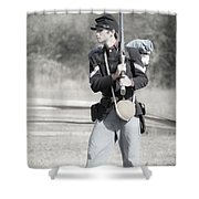 Young Soldier II Shower Curtain