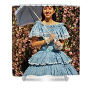 Young Southern Belle Shower Curtain
