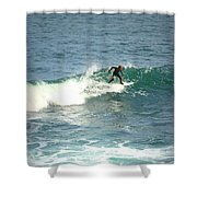 Young Surfers Four Shower Curtain