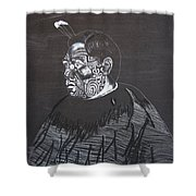 Young Tane Shower Curtain