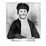 Young Thomas Edison, 1861 Shower Curtain
