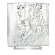 Young Thranduil Shower Curtain