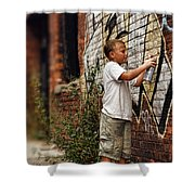 Young Vandal Shower Curtain