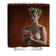 Young Woman Nude 1729.178 Shower Curtain