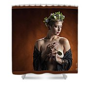 Young Woman Nude 1729.179 Shower Curtain