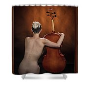Young Woman Nude 1729.190 Shower Curtain