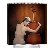 Young Woman Nude 1729.191 Shower Curtain