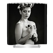 Young Woman Nude 1729.551 Shower Curtain