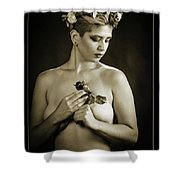 Young Woman Nude 1729.552 Shower Curtain