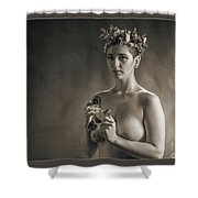 Young Woman Nude 1729.553 Shower Curtain