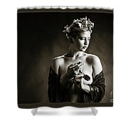 Young Woman Nude 1729.554 Shower Curtain