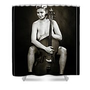 Young Woman Nude 1729.564 Shower Curtain