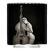 Young Woman Nude 1729.570 Shower Curtain