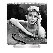 Young Woman Nude 1729.574 Shower Curtain