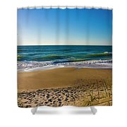 Your Beach Is Calling Shower Curtain