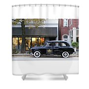 Your Cab Just Arrived Shower Curtain