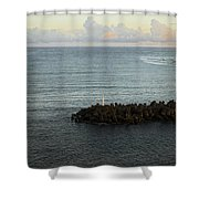 Your Call Leads Me Out Shower Curtain