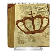 Your God Reigns Shower Curtain