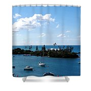 Your Island In The Sun Shower Curtain