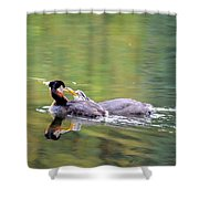 Your Making To Much Noise Shower Curtain