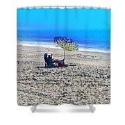 Your Own Private Beach Shower Curtain