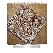 Your Shape - Tile Shower Curtain
