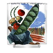 Your Victory Garden Counts More Than Ever Shower Curtain