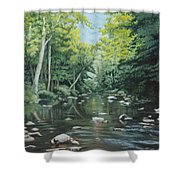 Your Waters Are Purest Shower Curtain