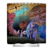You're Safe In My Hands Shower Curtain