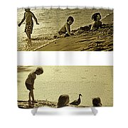 Youth At The Water Shower Curtain