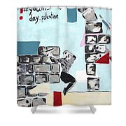 Youth Day Shower Curtain