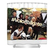#youtube Influencers  Shower Curtain