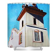 Ysleta Mission Shower Curtain