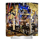 Ytterbium Lattice Atomic Clock Shower Curtain