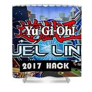 Yu Gi Oh Duel Links Hack Shower Curtain