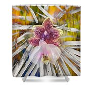 Yucca Dreaming Of Orchids Shower Curtain