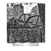 Yulee Sugar Mill Ruins Hrd Shower Curtain