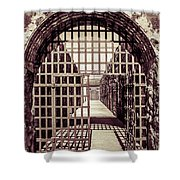Yuma Territorial Prison Gate Shower Curtain