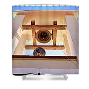 yzzx Belltower Two Shower Curtain