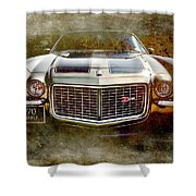 Z Car Shower Curtain