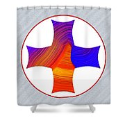 Z115a Shower Curtain