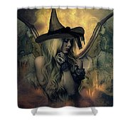 A Witch's Soul Does Never Die Shower Curtain