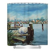 Zaandam Shower Curtain