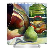 Zabaglione Pan Shower Curtain