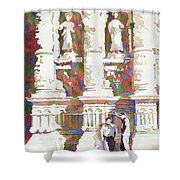 Zacatecas Cathedral Shower Curtain