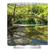 Zagora Bridge Shower Curtain
