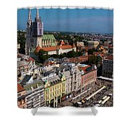 Zagreb Shower Curtain